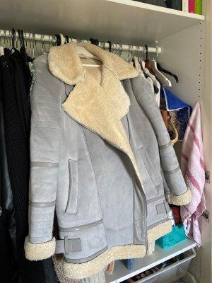 Zara Outerwear Vliegeniersjack room-azuur