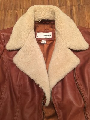 de.corp by Esprit Flight Jacket cognac-coloured