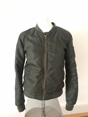 Q/S Flight Jacket dark green