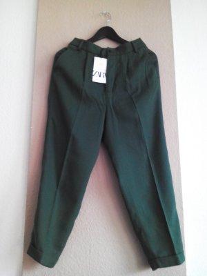 Fließende Hose aus 100% Lyocell in grün, Größe S neu