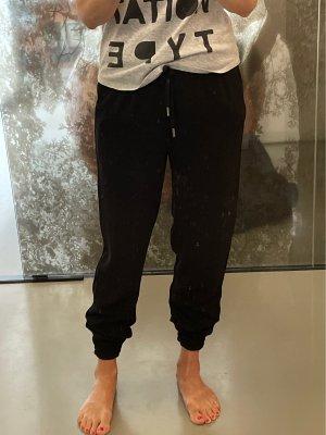 Hallhuber Jersey Pants black polyester