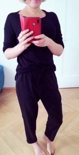 Fließende Hose Zara Größe S 36 schwarz