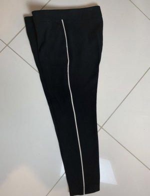 Ipekyol Pantalone jersey nero-bianco