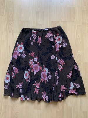 3 Suisses Pleated Skirt multicolored