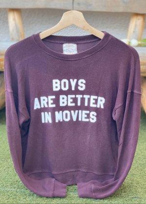Fließendes Basic-Sweatshirt