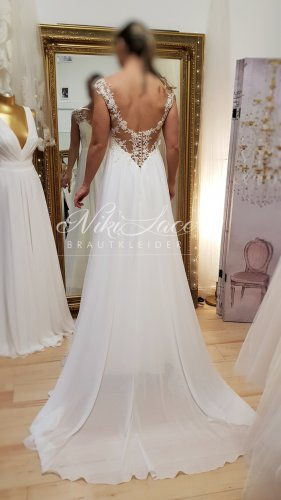 Wedding Dress white-natural white