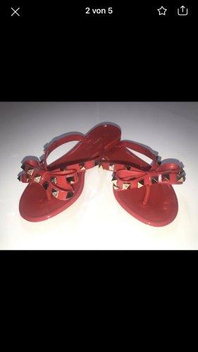 Flip-Flop Sandals neon red