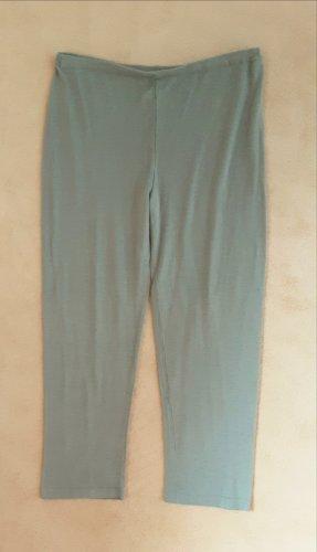 Flip flop 3/4 Leggings in graugrün. Gr. XS bis S. Herrlich weich.