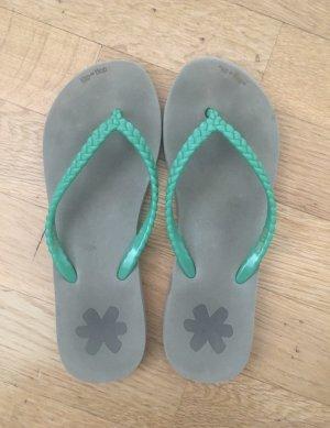 Flip Flop Badeschuhe grün gr 36