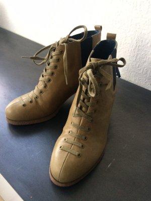 Flip Flop Chelsea Boots, Pumps, Schnürboots, weiches Leder, NEU, Gr. 38 Sonderpreis heute!