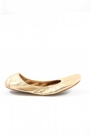 Flip*flop Foldable Ballet Flats gold-colored casual look