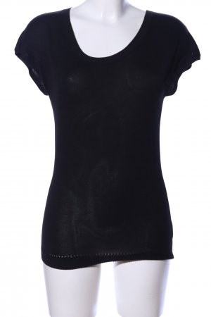 Flip*flop Fijn gebreide cardigan zwart casual uitstraling