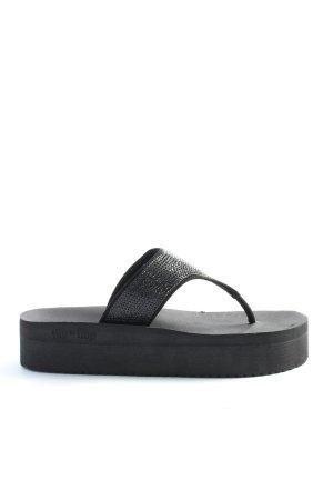 Flip*flop Flip Flop Sandalen schwarz Casual-Look