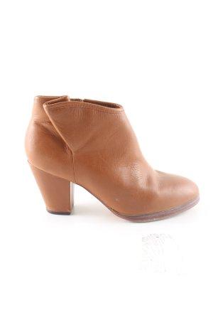 Flip*flop Keil-Stiefeletten braun Business-Look