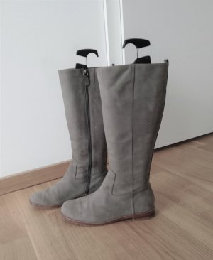 Flip*Flop Leder Stiefel in Grau