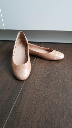 flip*flop Lederballerinas 36 nude Schlange