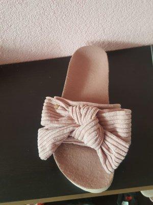Flip*flop Zomerschoenen met hak rosé-lichtroze Textielvezel