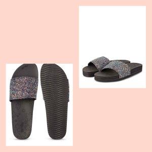 Flip*flop Heel Pantolettes black