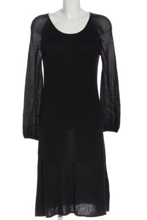 Flip*flop Swetrowa sukienka czarny W stylu casual
