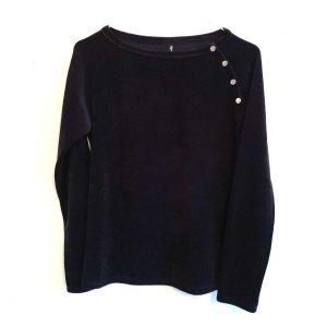 flip*flop Samt Nicki Pullover Shirt XS/S 34/36 schwarz