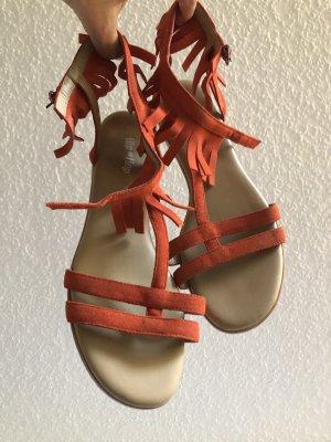 Flip*flop Romeinse sandalen donker oranje