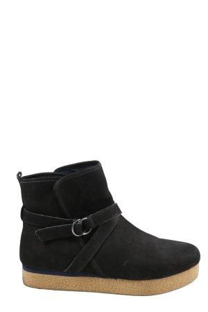 Flip*flop Schlüpf-Stiefeletten schwarz Casual-Look