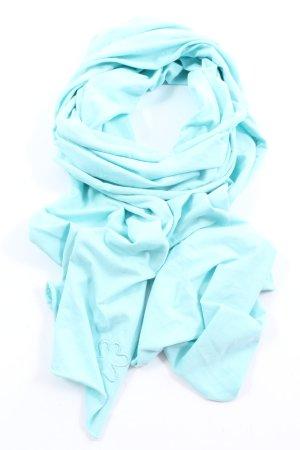 Flip*flop Sciarpa lavorata a maglia blu stile casual