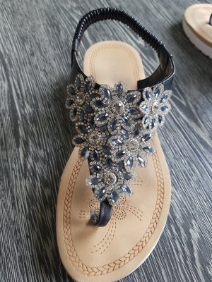Super Me Flip-Flop Sandals white-blue