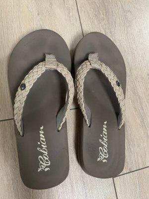 Flip flop sandalen grijs-lichtgrijs