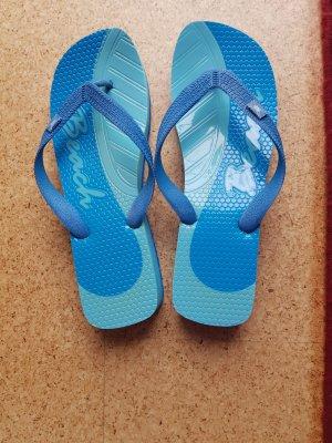 keine Flip-Flop Sandals neon blue