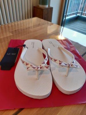 Armani Jeans Claquette blanc-violet