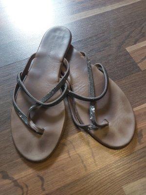 BRUCE BROWN Sandalo infradito antracite