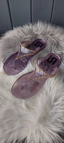 River Island Beach Sandals lilac