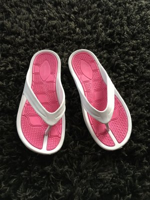 Flip-Flop Sandals white-raspberry-red