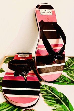Flip Flops Kate spade gr 37 getragen pink schwarz
