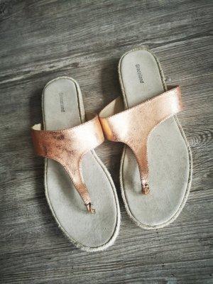 Flip Flops mit Bastsohle