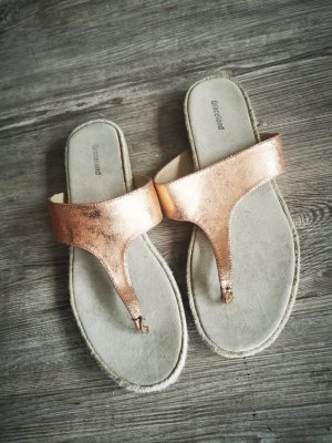 Graceland Flip-Flop Sandals rose-gold-coloured-sand brown