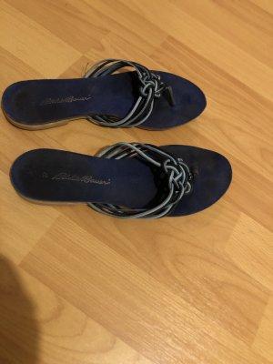 Eddie Bauer Flip-Flop Sandals dark blue-azure