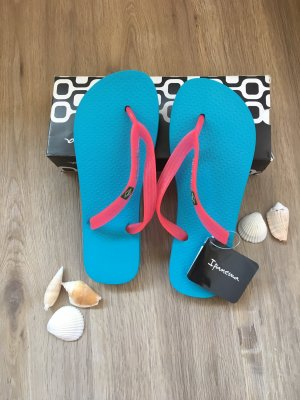 Ipanema Sandalo toe-post rosa-azzurro