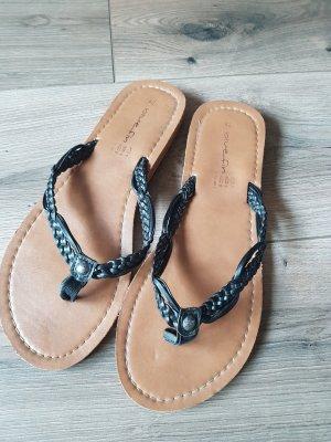 Blue Fin Sandalo infradito nero