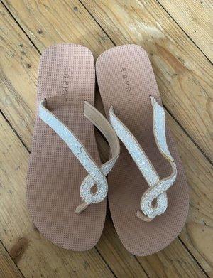 Esprit Flip-Flop Sandals dusky pink