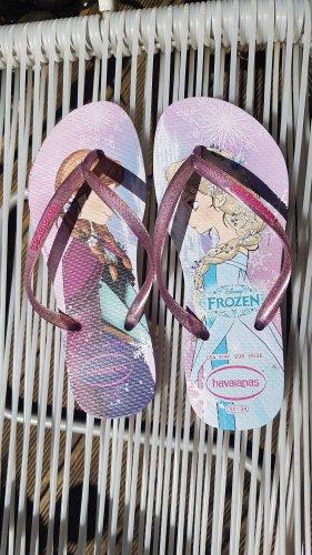Havaianas Sandalo infradito con tacco alto malva