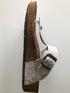 Sommerkind Dianette Sandals silver-colored leather
