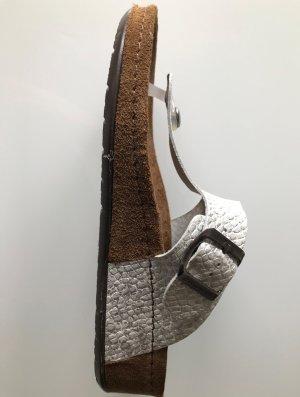Sommerkind Dianette sandalen zilver Leer