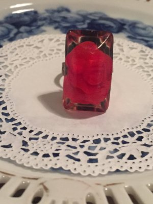 Statement Ring red