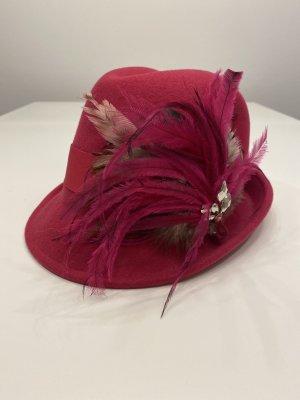 Hallhuber Cappello tradizionale rosa