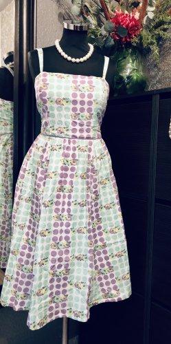 Monsoon A Line Dress multicolored