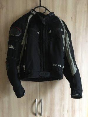 Chaqueta de motociclista negro-gris