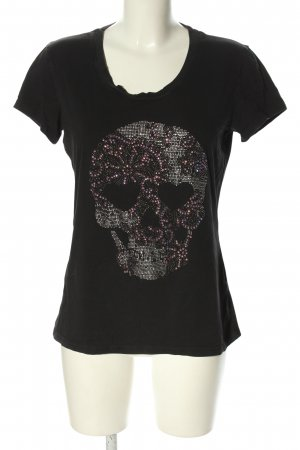 Flona T-Shirt Motivdruck extravaganter Stil