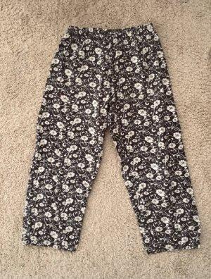 Pantalón deportivo negro-blanco